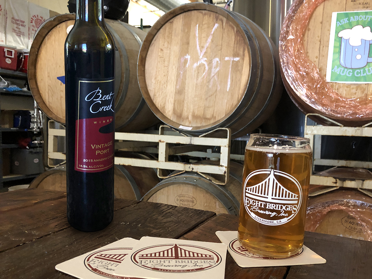 Eight Bridges Port Barrel-Aged Cherry SOur
