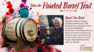 Barrel Tasting Weekend: The Painted Barrel Trail