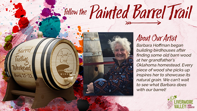 Follow the Painted Barrel Trail...